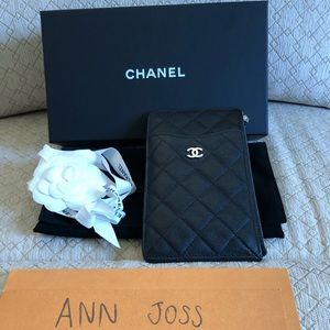 Chanel all in one phone case and card holder
